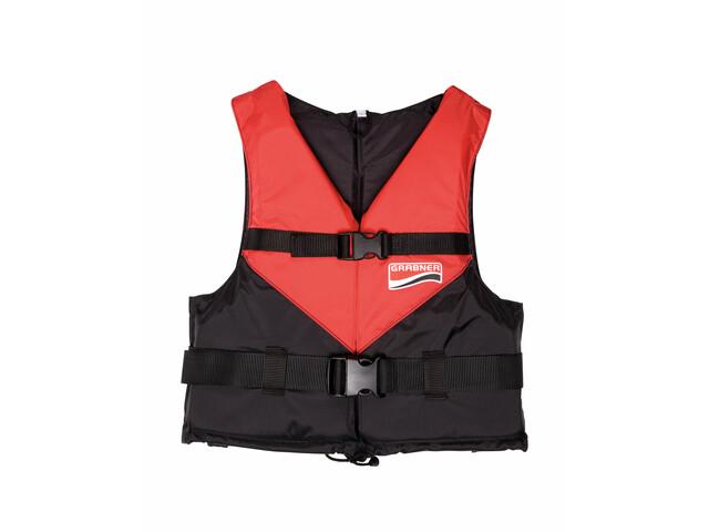 Grabner Viva Chaleco Flotador, black/red